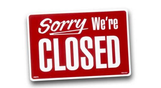 shutdown ecommerce