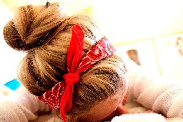 wear a bandana