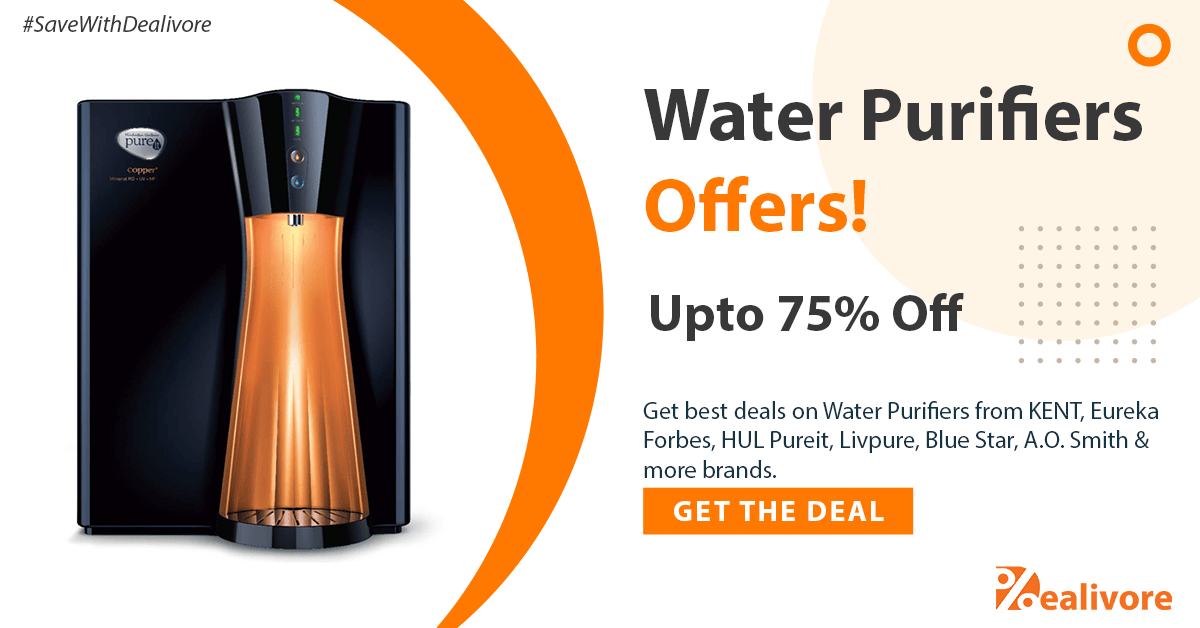 water purifiers offers